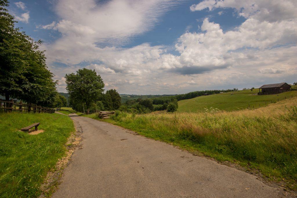 Ardennen landschap