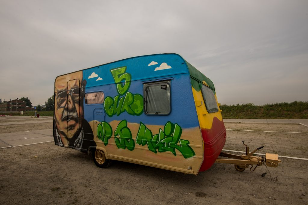 Caravan Op je Muil
