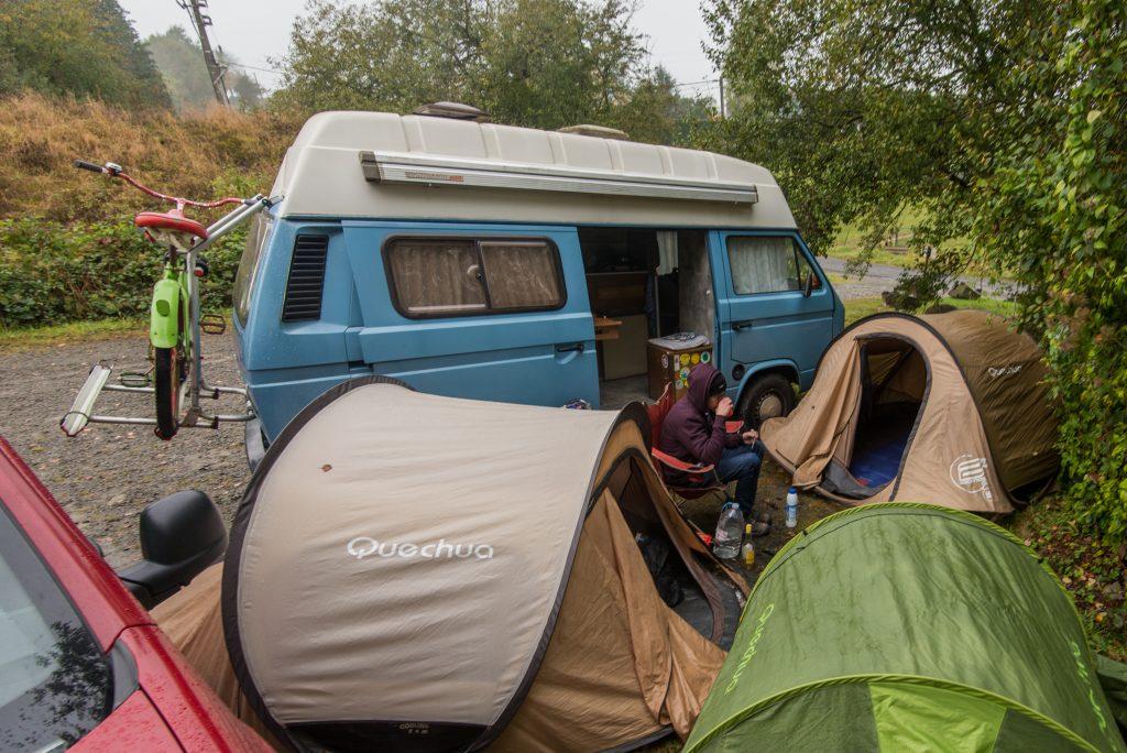Compact kamperen